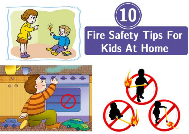624x441 Top 10 Home Fire Safety Tips For Kids