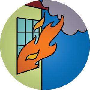 300x300 Fire Safety Clip Art