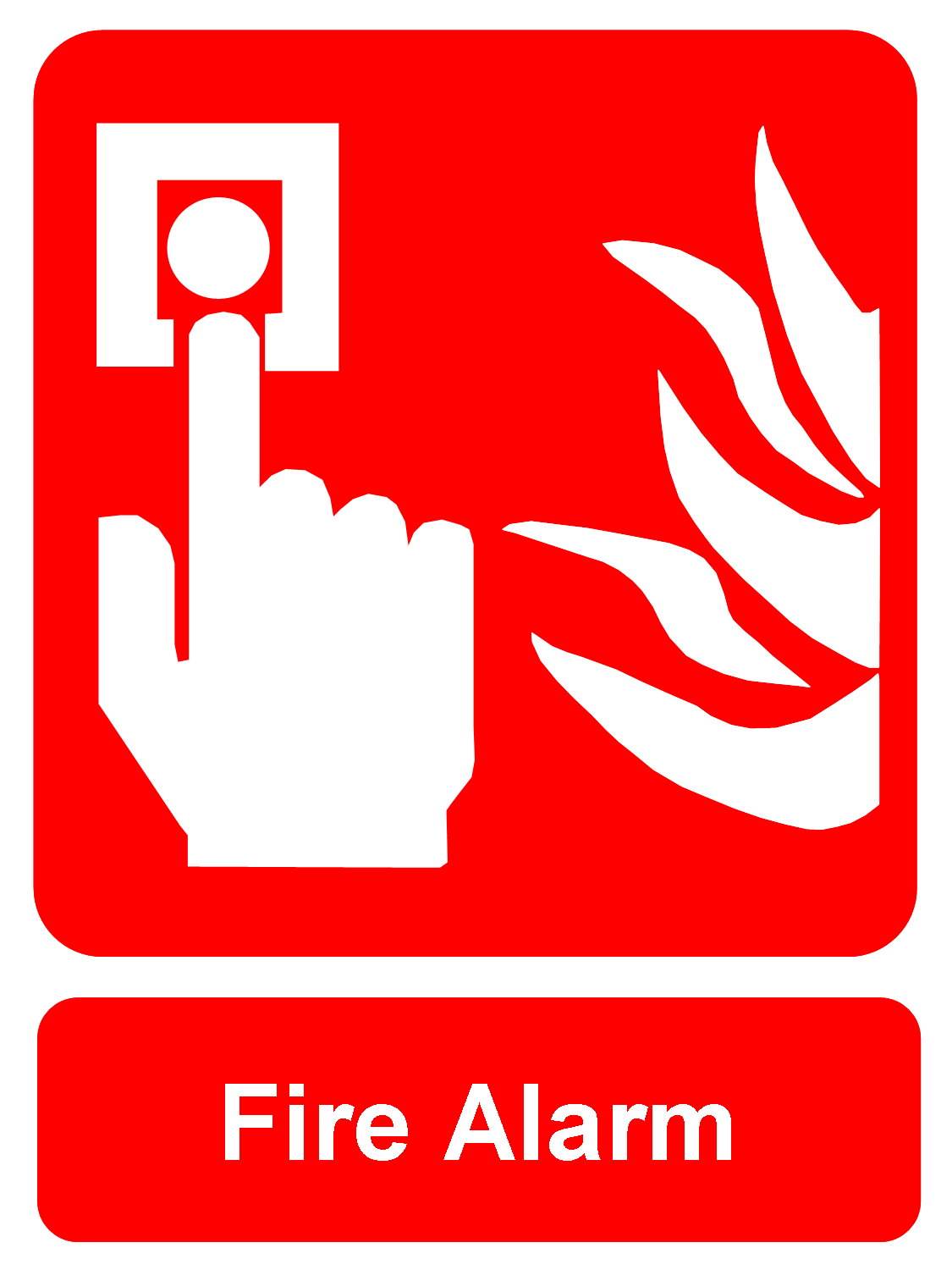 1125x1500 Fire Sign Clipart