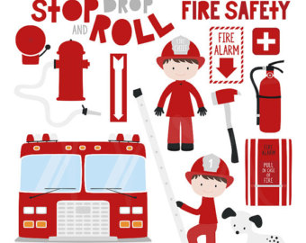 340x270 Firefighter Clipart Etsy