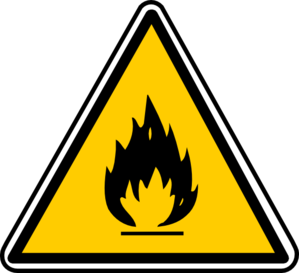 299x273 Warning Fire Clip Art