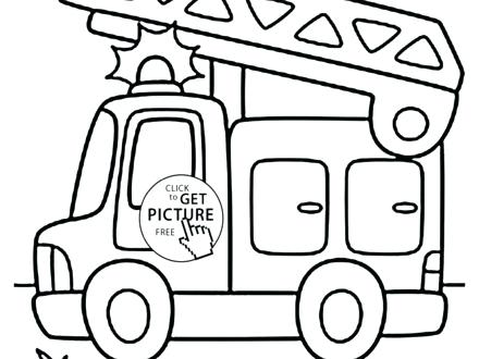 440x330 Fire Trucks Coloring Pages Fire Truck Coloring Pages Free To Print