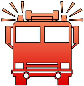 294x300 Firetruck Fire Truck Clipart Black And White Free 2
