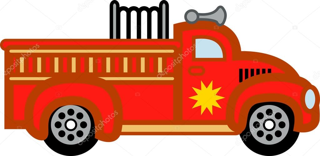1024x501 Cartoon Firetruck Stock Vector Clipartguy