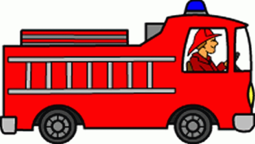 820x463 Fire Truck Clipart Home Fire