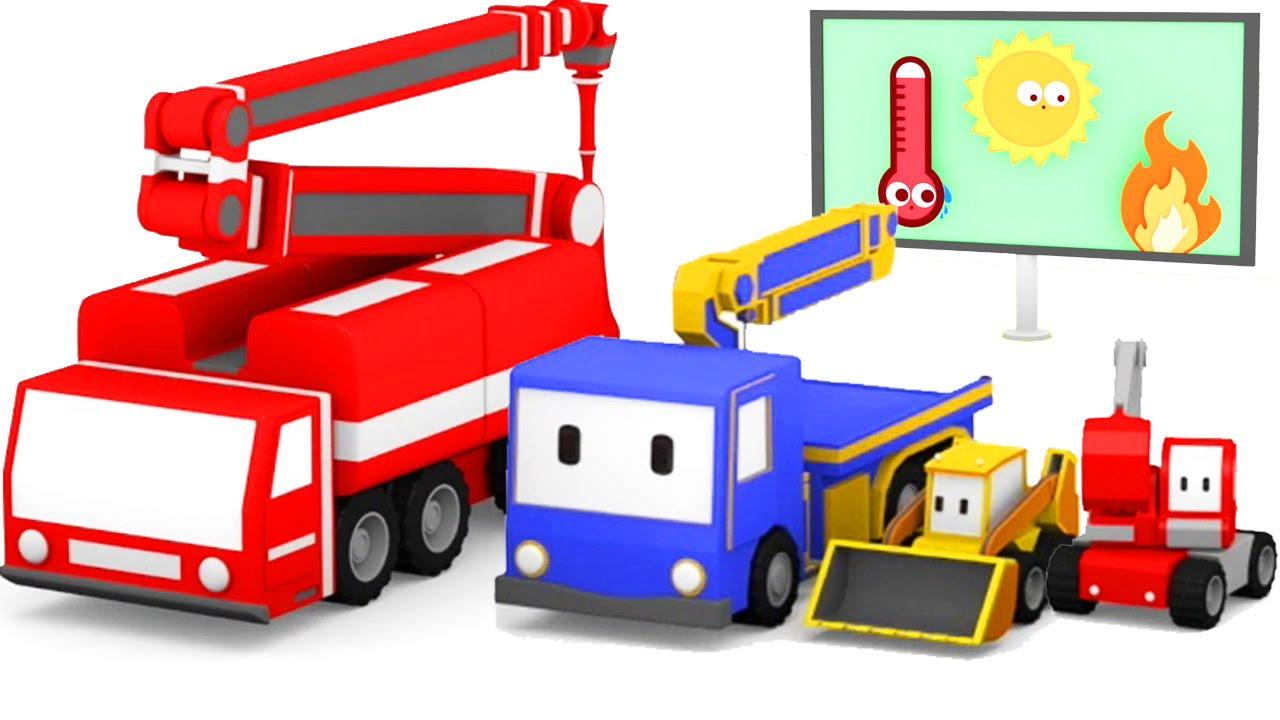 1280x720 The Fire Truck