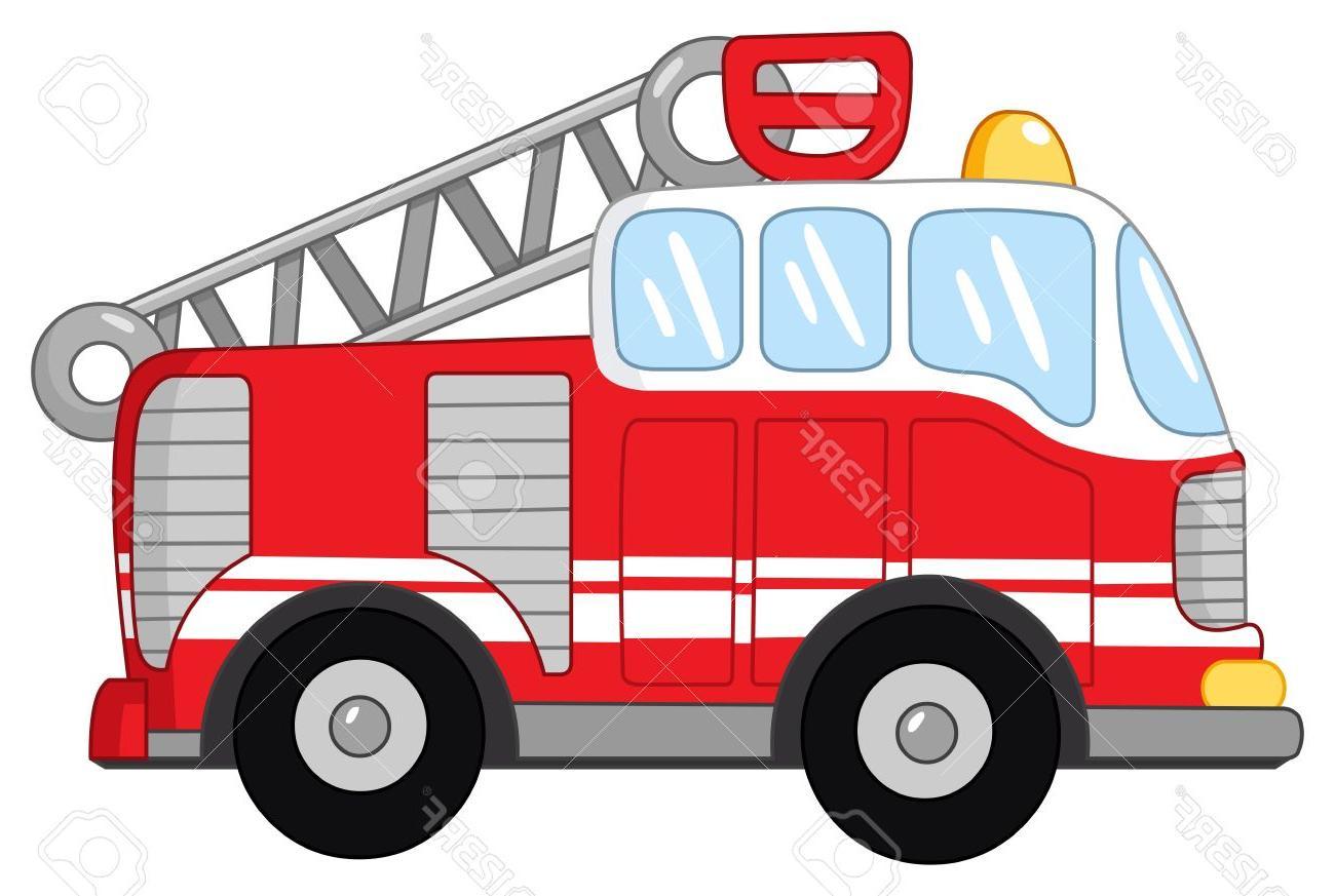 1300x873 Best 15 Fire Truck Stock Vector Cartoon Images
