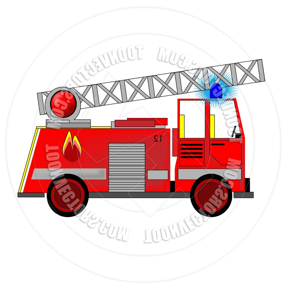940x940 Best Fire Truck Cartoon Toonvectors Drawing