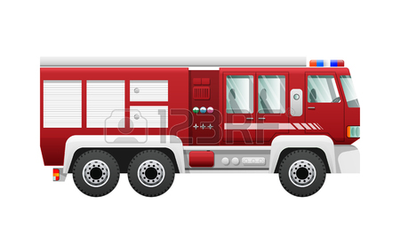 Fire Truck Cartoon Images