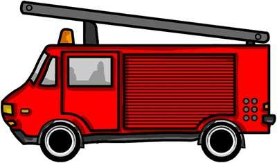 400x235 Fire Truck Cliparts