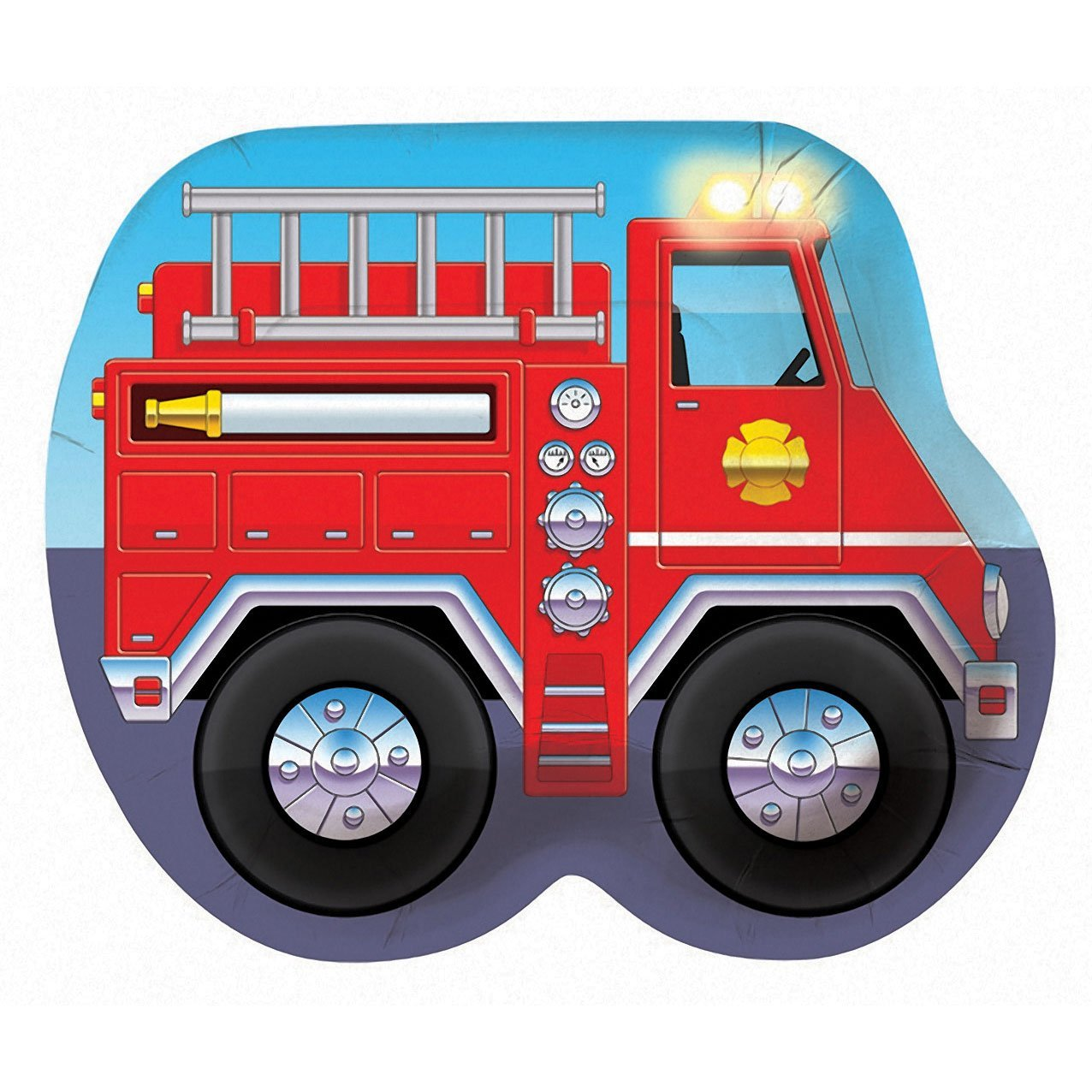 1276x1276 Fire Truck Clipart Man