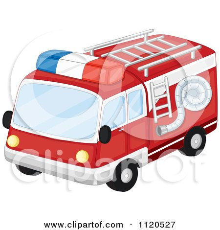 450x470 Fire Truck Clipart Red