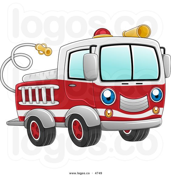 564x575 Graphics For Pierce Fire Truck Cartoon Graphics