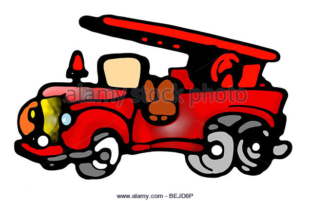 640x413 Vector Cartoon Fire Truck Stock Photos Amp Vector Cartoon Fire Truck