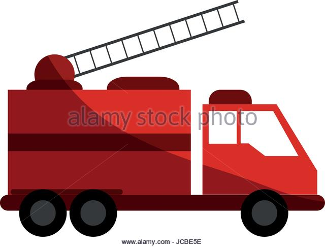 640x486 Vector Cartoon Rescue Truck Stock Photos Amp Vector Cartoon Rescue