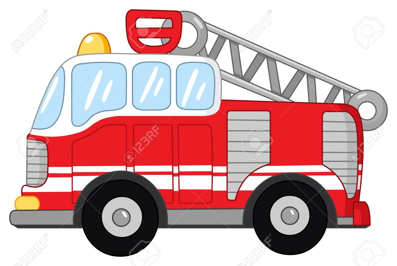 1300x873 Cartoon Fire Truck Clipart