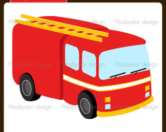 340x270 Fire Truck Clip Art Single Clipart Panda