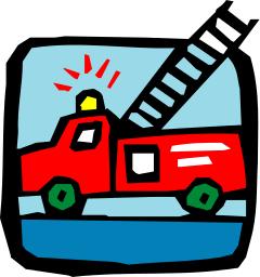 240x256 Fire Truck Icon Clip Art Download