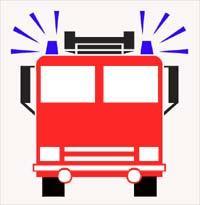 200x205 Fire Truck Siren Clipart