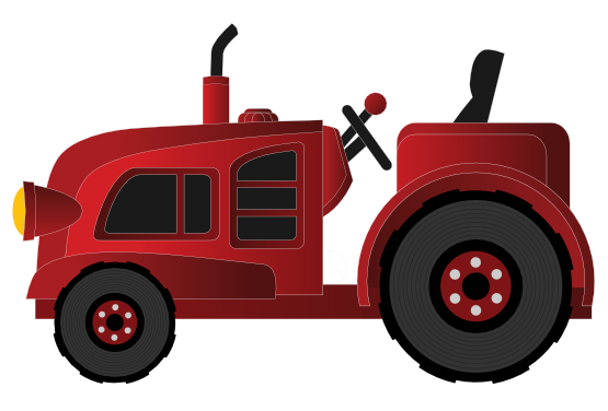 555x376 Clip Art Cartoon Farm Truck Clipart