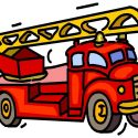125x125 Top Fire Engine Clip Art Design Free Vector Art, Images