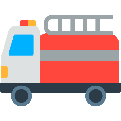 512x512 Fire Engine Emoji For Facebook, Email Amp Sms Id  486 Emoji.co.uk