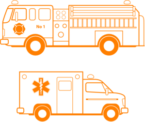 299x252 Fire Truck And Ambulance Clip Art