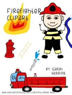 236x314 Firefighter Clipart