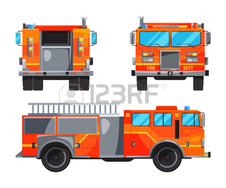 Fire Truck Illustrations
