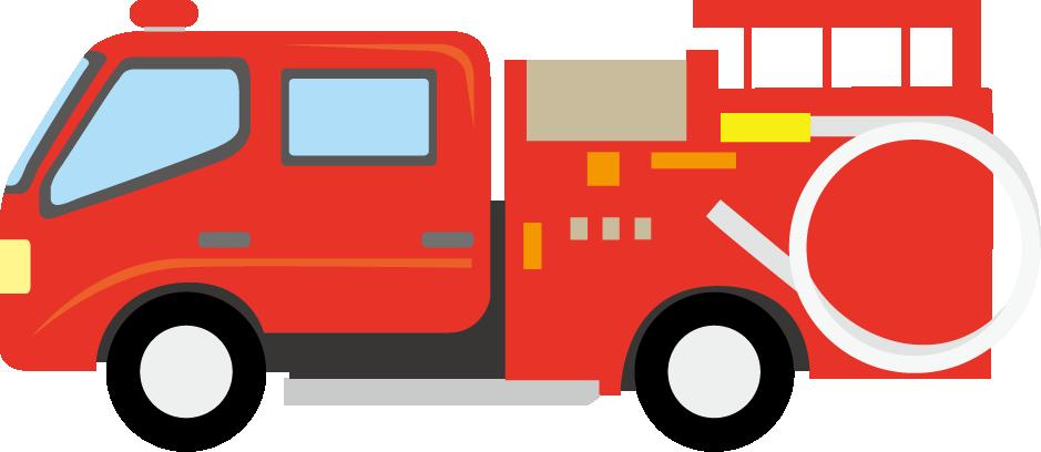 939x408 Fire Truck Clipart