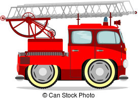 272x194 Fire Truck Clipart Cute