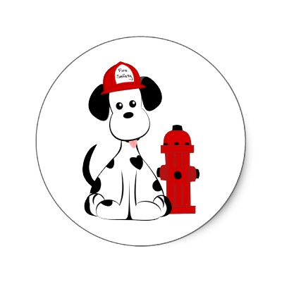 400x400 Fire Truck Clipart Fire Dog