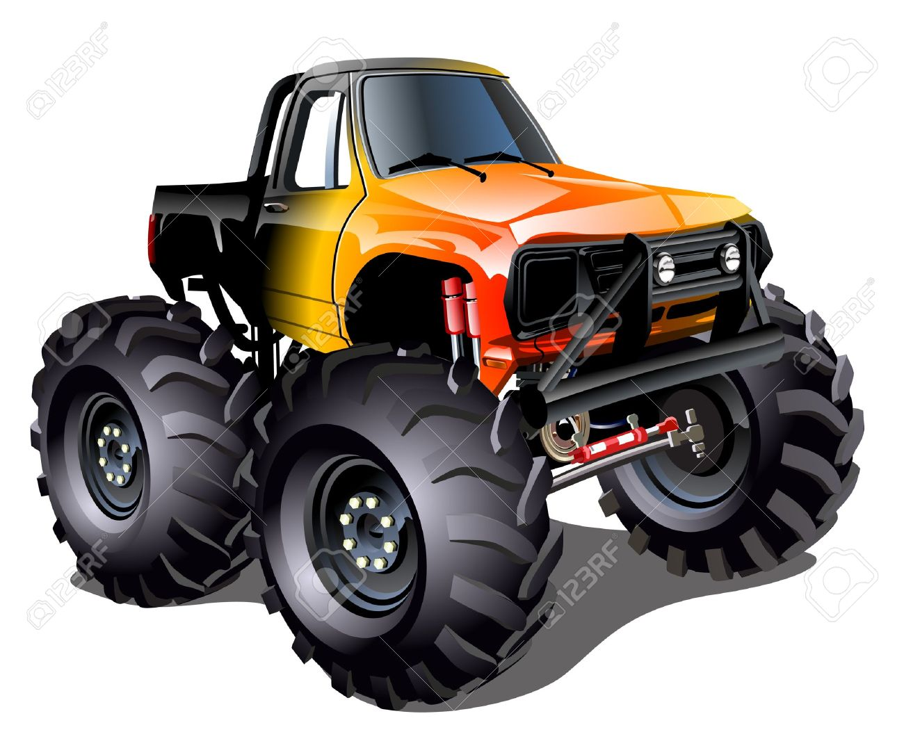 1300x1076 Fire Truck Clipart Monster Truck