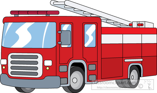 550x326 Fire Trucks Clipart Collection