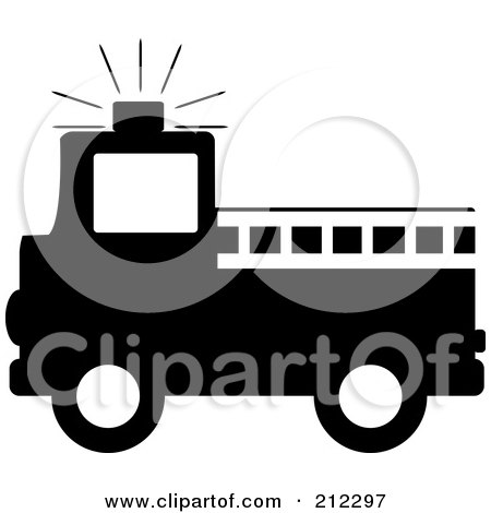 450x470 Royalty Free (Rf) Clipart Of Fire Trucks, Illustrations, Vector