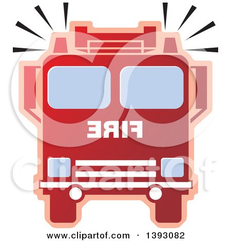 450x470 Royalty Free (Rf) Firetruck Clipart, Illustrations, Vector Graphics