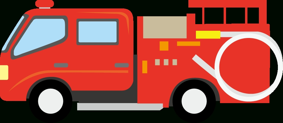 939x408 Fire Truck Clipart Png Letters Example