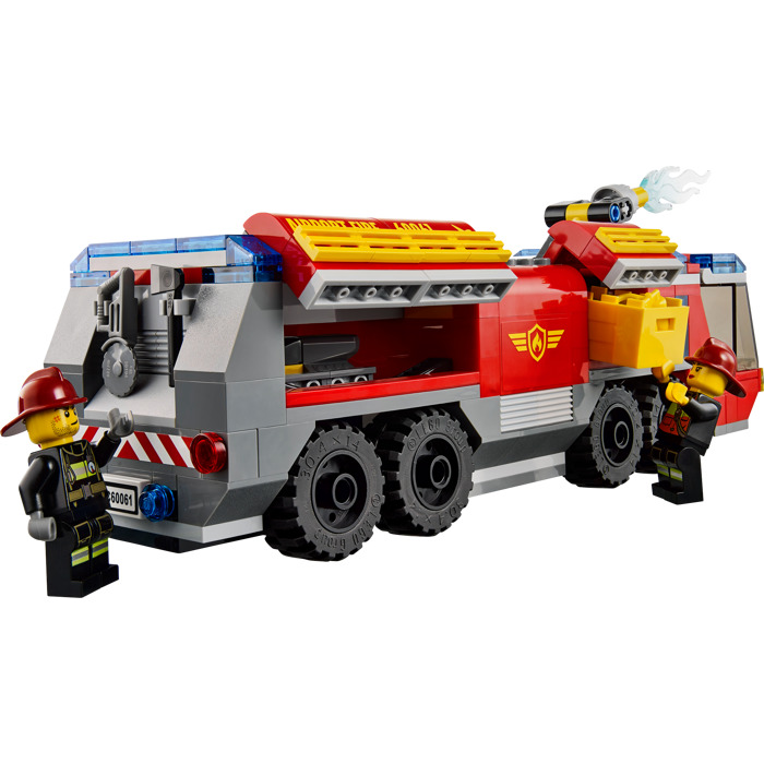 700x700 Lego Airport Fire Truck Set 60061 Brick Owl