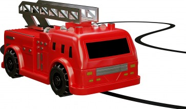 363x213 Magic Inductive Truck Follows Black Line Fire Truck Tech Import