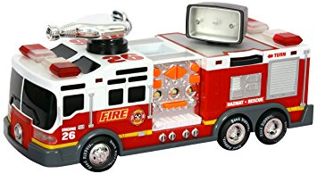 355x195 Toy State 14 Rush And Rescue Police And Fire