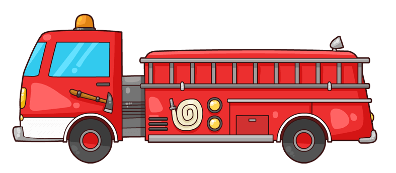 787x344 Fire Truck Cliparts