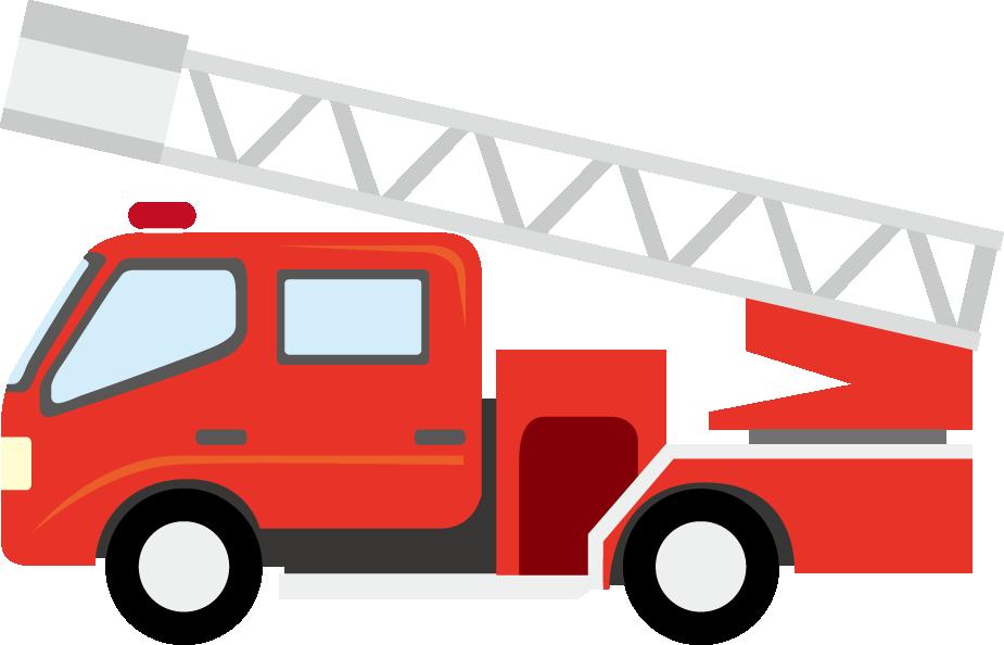 925x594 Free Fire Truck Clipart