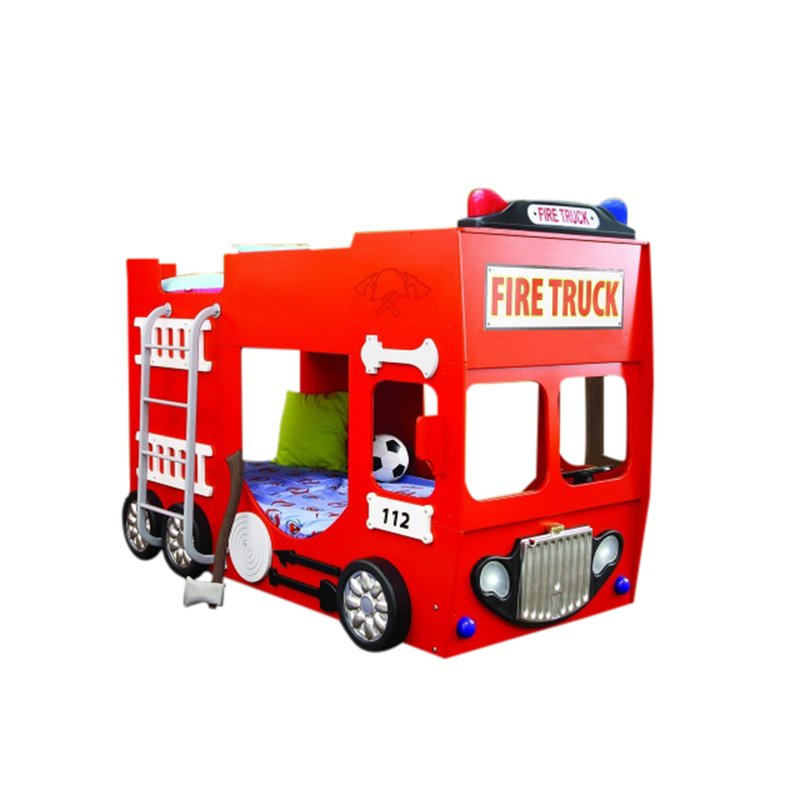 800x800 Plastiko Fire Truck Toddler Bunk Bed Amp Reviews Wayfair