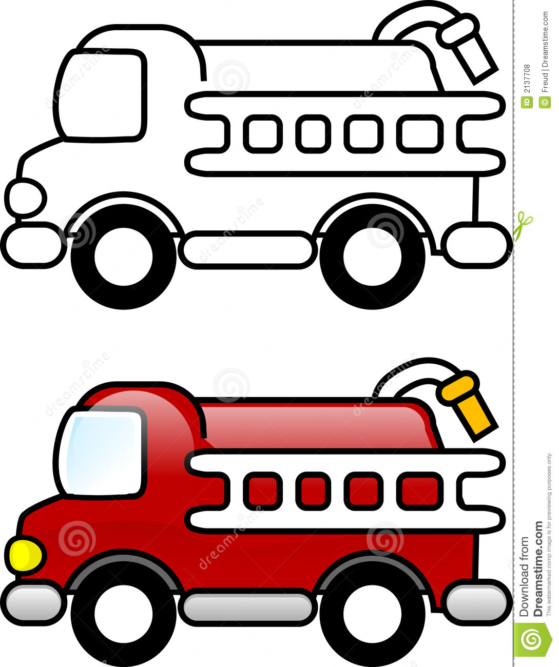 1089x1300 Fire Truck Clipart Simple
