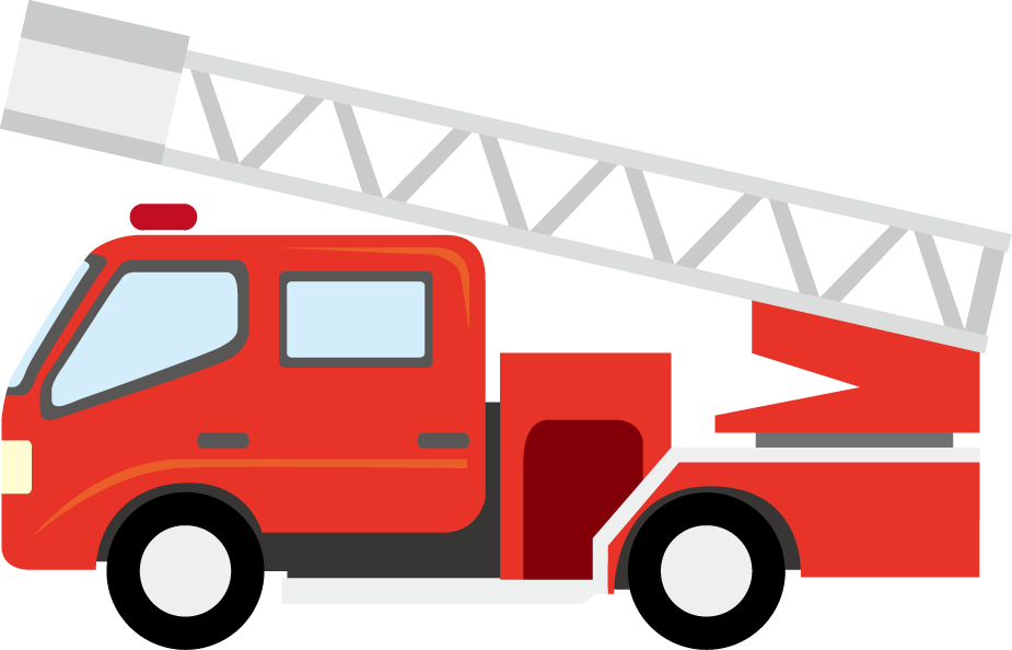 925x594 Fire Truck Clipart Simple