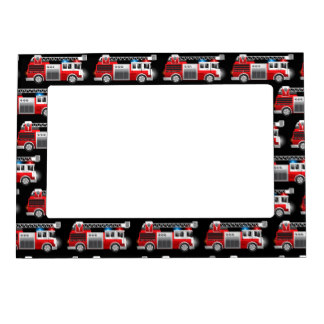 324x324 Truck Magnetic Picture Frames Zazzle