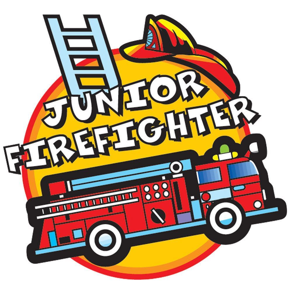 1000x1000 Junior Firefighter Temporary Tattoo (Fire Truck) Positive Promotions