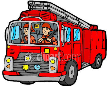 350x283 Vehicle Fire Clipart