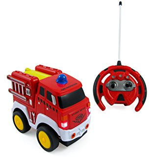 314x320 Kid Galaxy My First Rc Fire Truck. Toddler Remote