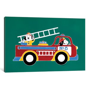 299x299 Fire Truck Wall Art Wayfair